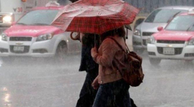 Activan alerta amarilla por lluvias en las 16 alcaldías de la CDMX (adn40)