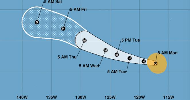 """México: La tormenta tropical """"Barbara"""" se aleja de las costas mexicanas; podría ser huracán categoría 1 (Sin Embargo)"""