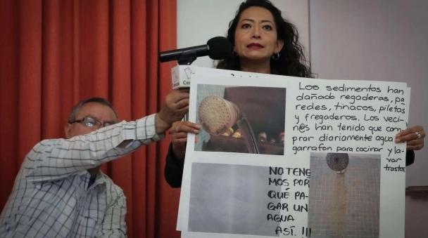 """México: Más de 40 mil capitalinos reciben """"agua café"""" en El Rosario, Azcapotzalco (SDP Noticias)"""