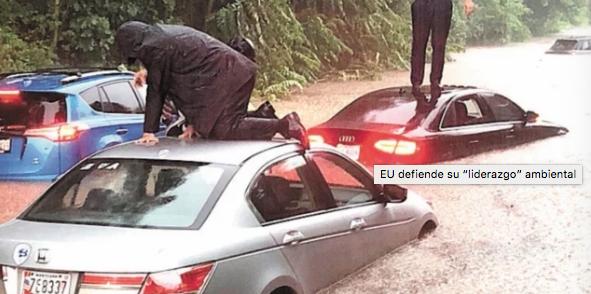 """Washington: EU su """"liderazgo"""" ambiental (El Universal)"""