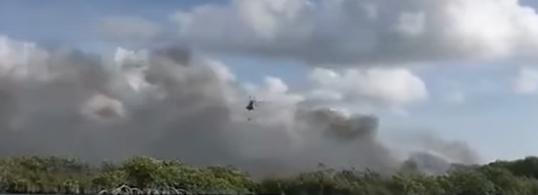 Chetumal: Continúa combate a incendios en reserva de Sian Ka´an en Quintana Roo (El Universal)