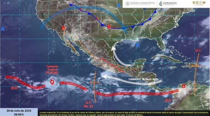 México: Lluvias y altas temperaturas se registrarán en gran parte del país (GlobalMedia)
