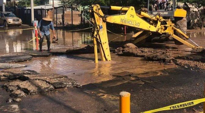 Mexicali: Hay afectación del servicio de agua (La Voz de la Frontera)