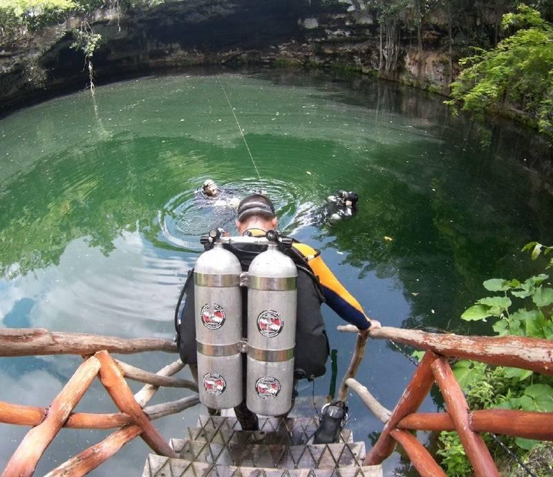 Yucatán: Cenotes dañados (El Diario de Yucatán)