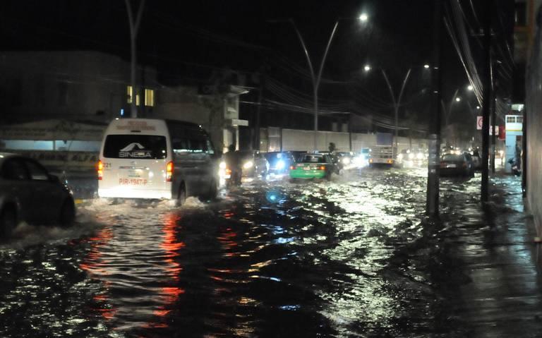 Aguascalientes: lluvia causa estragos en el centro del país (El Sol de México)