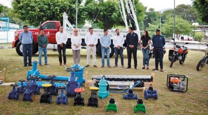 Morelos: fortalecen sistema de agua de Jiutepec (Diario de Morelos)