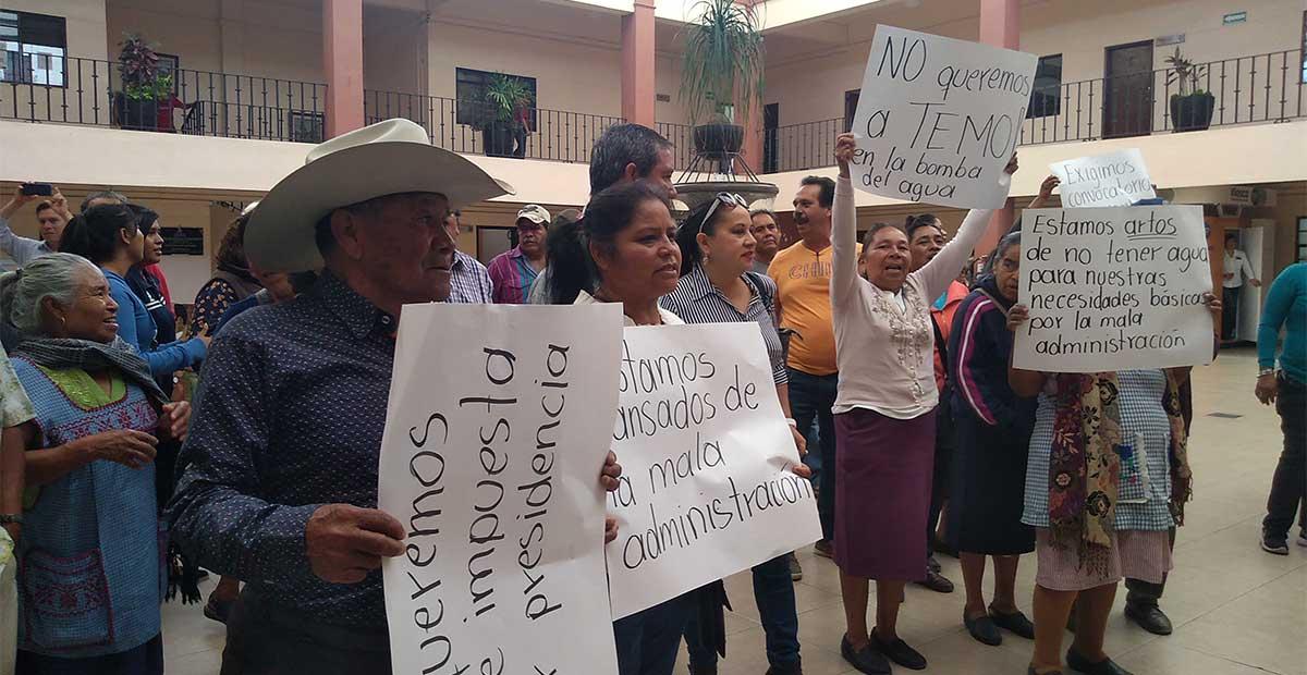 Guanajuato: piden a acarreados no politizar falta de agua potable (Periódico Correo)