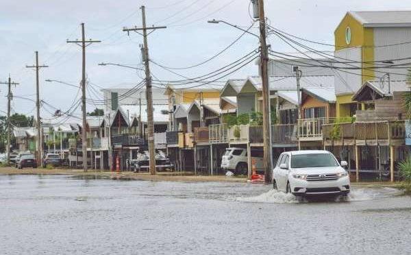 Estados Unidos: Luisiana, al tope de agua (El Heraldo de México)