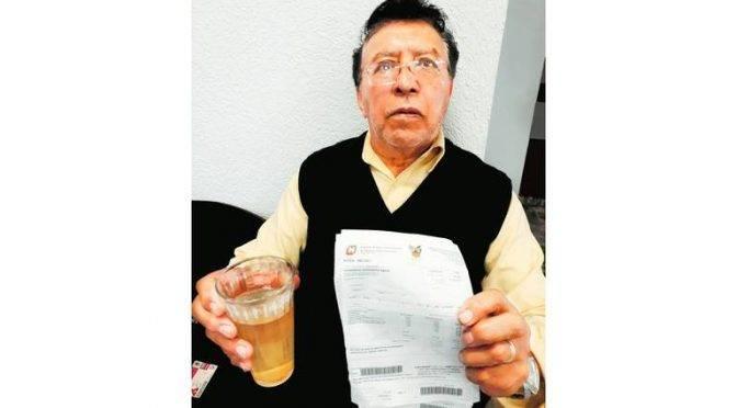 Hidalgo: un mes de agua sucia en Centro y Españita (El Sol de Hidalgo)
