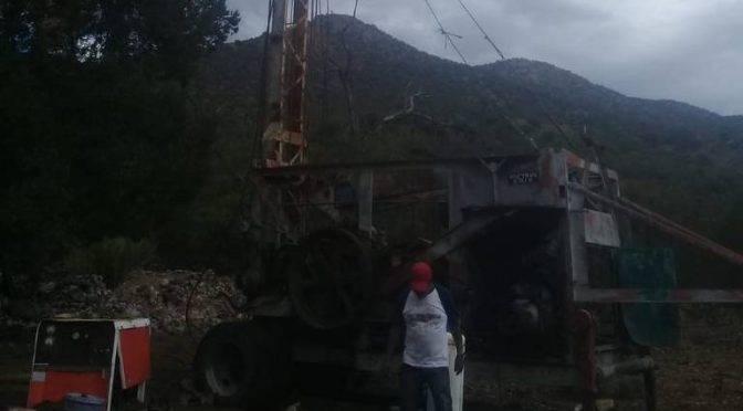 Chihuahua: Inician construcción de un nuevo pozo de agua potable en Santa Bárbara (El Sol del Parral)
