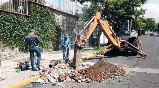 Cuernavaca: Registra SAPAC más fugas de agua y drenajes por las lluvias (Diario de Morelos)