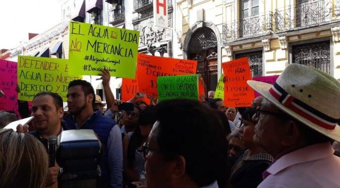 Puebla: Empresa de Agua debe ser auditada para evitar pago de indemnización: Alejandro Carvajal (La jornada de Oriente)