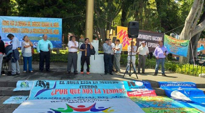 Puebla: Frente en defensa del agua: en el estado hay 240 concesiones mineras altamente tóxicas (La jornada de Oriente)