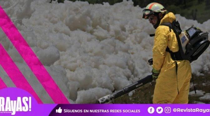 Puebla: ¡Empresa de Agua Miente! Espuma de Valsequillo tiene metales pesados y otras sustancias tóxicas, revelan estudios de CONAGUA y ONG (Rayas!))