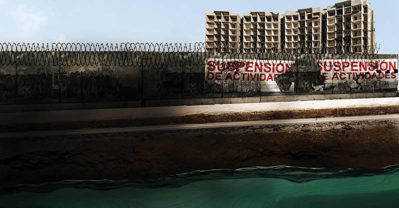 CDMX: Acuífero en peligro por construcciones en coyoacán (Reporte Indigo)