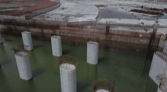 CDMX: Desmiente SCT inundación de pilotes en NAIM (La Jornada)