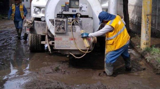 Puebla: Coadyuva Agua con el Ayuntamiento en prevención de inundaciones (MILENIO)