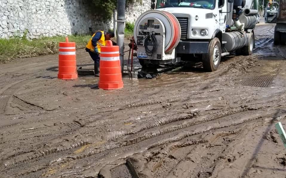 Realizó Agua de Puebla limpieza en colonias afectadas por las lluvias (Milenio)