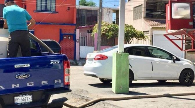 Tamaulipas: Mantiene protección civil dotación de agua gratis (Cinco)