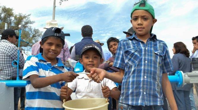 Guanajuato: Amplían cobertura de agua en zonas rurales de GTO (Página Central)