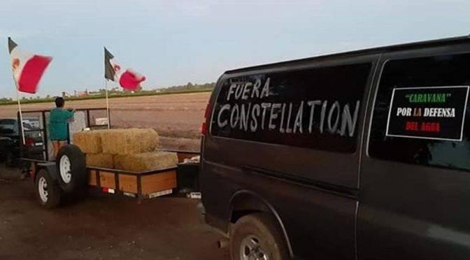 Baja California: Continúa guerra por el agua ; ciudadanos se enfrentan a cervecera (El mercurio)