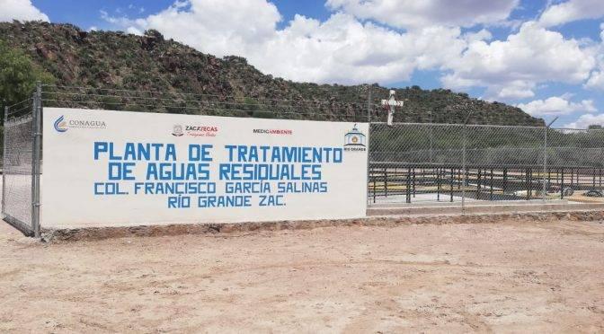 Zacatecas: concluyen Planta de Tratamiento de Aguas Residuales (NTR Zacatecas)