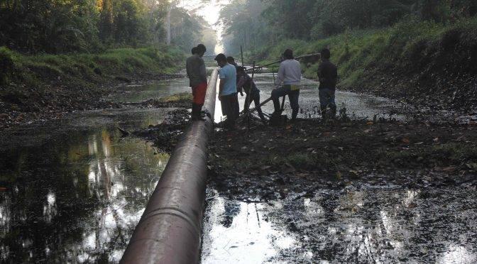 Perú: Indígenas levantan protestas en zona declarada en emergencia por derrame de petróleo (ecodiario)