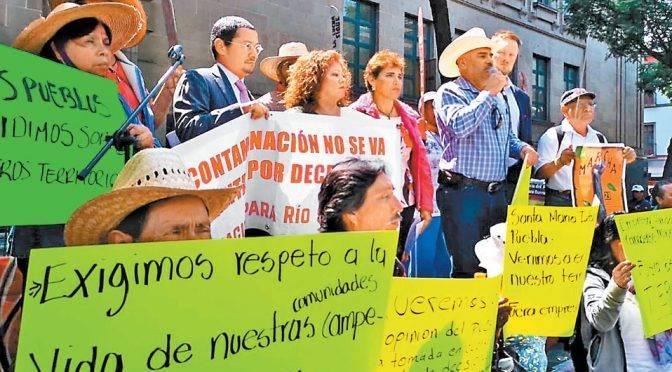 Pobladores temen por nueva presa de Grupo México en Sonora (Milenio)