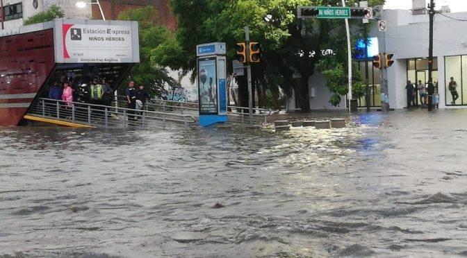 Jalisco: realizarán obras en línea 2 del tren ligero para evitar inundaciones (Milenio)