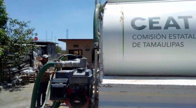 Tamaulipas: Crisis del agua aún no termina; Comapa distribuye líquido en pipas (Expreso)