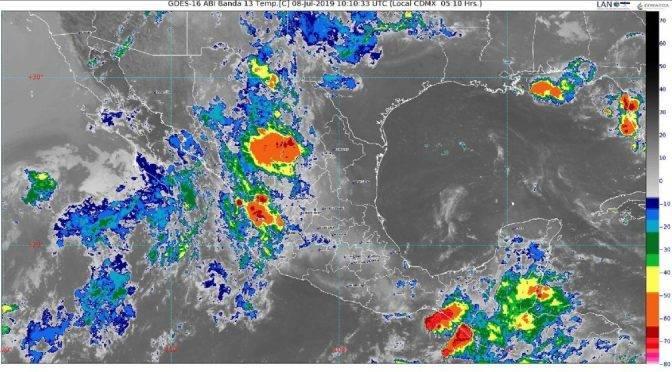 CDMX: Prevén lluvias muy fuertes en cuatro estados e intensas en Chiapas (La Jornada)