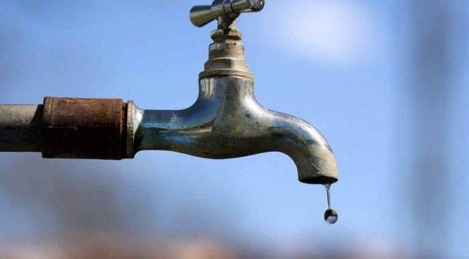 Por mantenimiento de emergencia suspenden suministro de agua en Toluca (El Sol de Toluca)