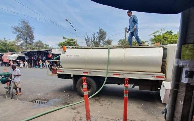 Mazatlán: Se agudiza desabasto de agua en mercado de la Juárez (El Sol de Mazatlán)