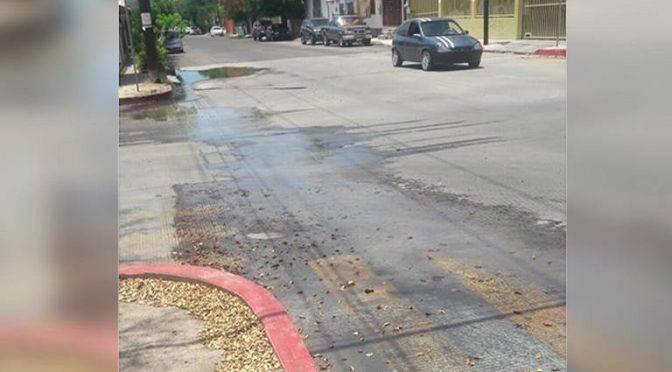 Baja California Sur: denuncian derrame de aguas negras en colonia Pueblo Nuevo (El Sudcaliforniano)