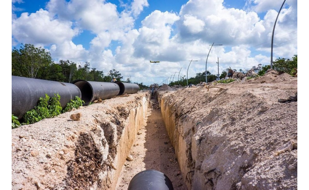 Quintana Roo: Aguakan arranca rehabilitación de redes en Playa del Carmen (La Jornada Maya)