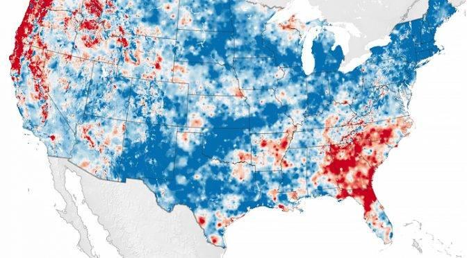 El ciclo del agua se está acelerando en gran parte de los EE. UU. (Tiempo)