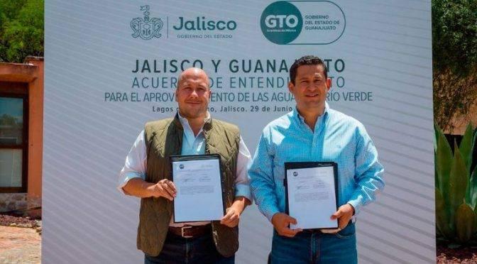 Jalisco y Gto aprovecharán agua del Río Verde (El Economista)