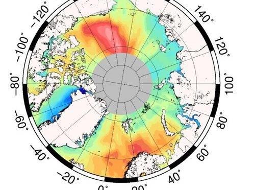La subida del mar en el Ártico se cifra en 2,2 milímetros al año (europa press)