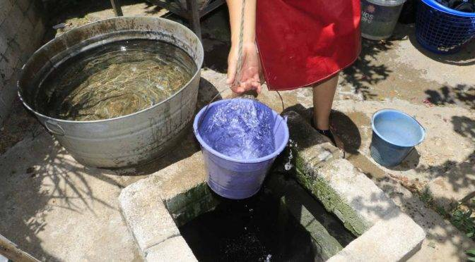Oaxaca: Ante escasez, recolectan agua de lluvia (NVI noticias)