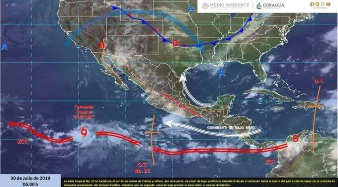 CDMX: Lluvias y altas temperaturas en gran parte del país (La Jornada)