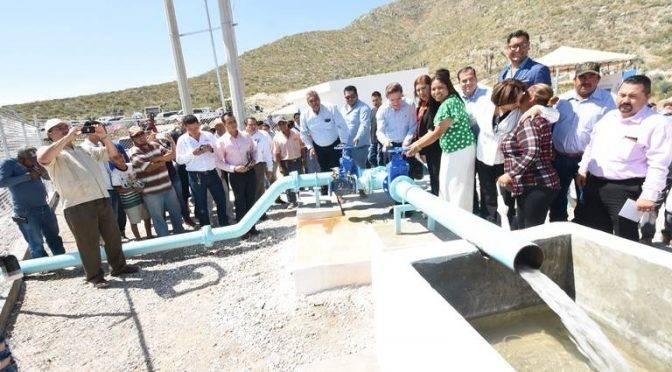 Ciudad Lerdo: Entra en operación nuevo pozo de agua potable en ejido La Luz (Noticias de el Sol de la Laguna)