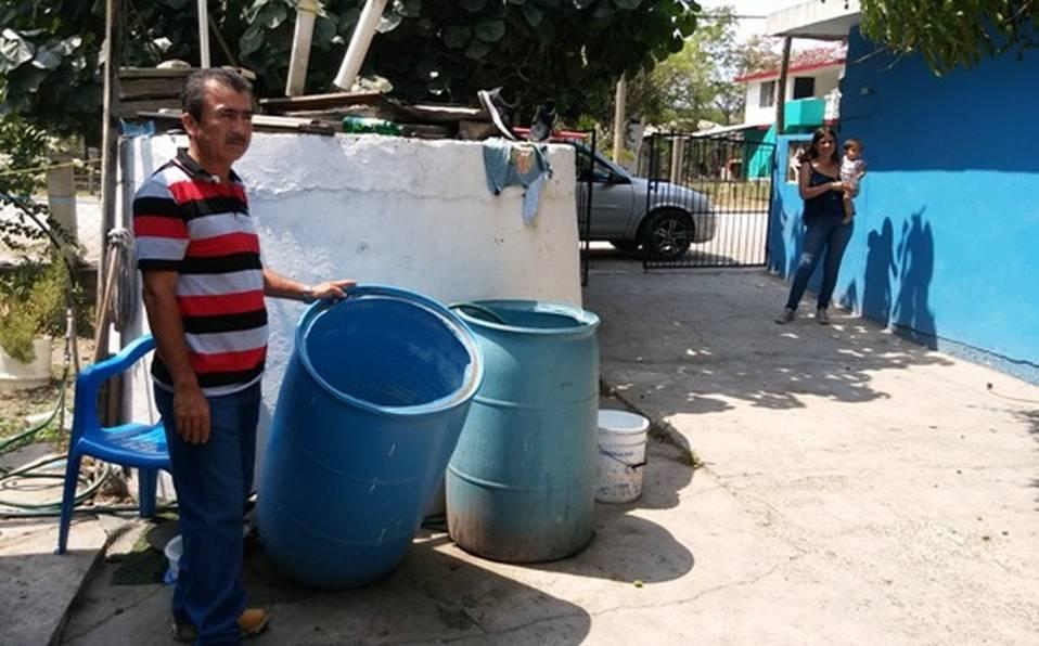 Pueblo Viejo: Sin pipas de agua quedan Tampico Alto y Pueblo Viejo (MILENIO)