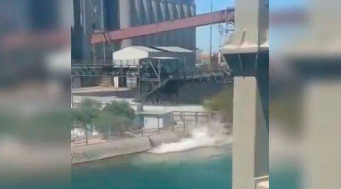 Sonora: Derraman 3 mil litros de ácido sulfúrico en Mar de Cortés (Milenio)