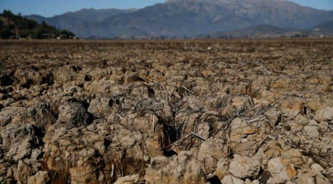 La laguna de más de mil hectáreas que el cambio climático secó en Chile (El Espectador)