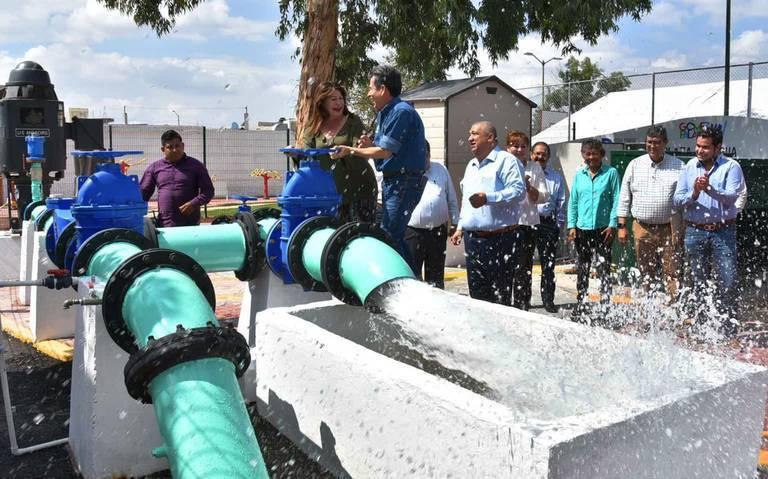 Durango: entrega Lety nueva fuente de abastecimiento de agua en la colonia Francisco Zarco (Noticias del Sol de la Laguna)
