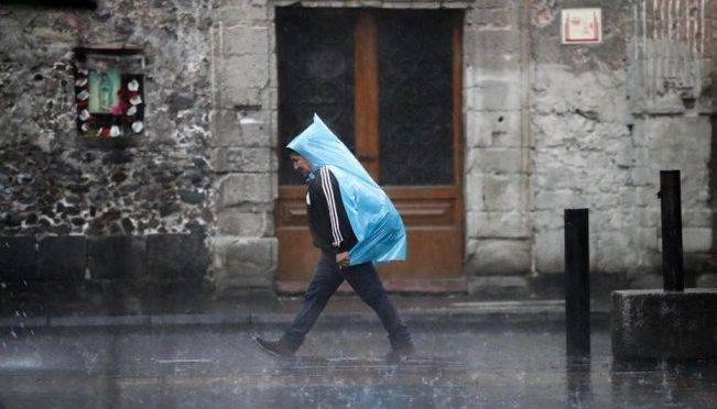 CDMX: Se esperan lluvias en 30 estados; en ocho serán de fuertes a muy fuertes (El Universal)