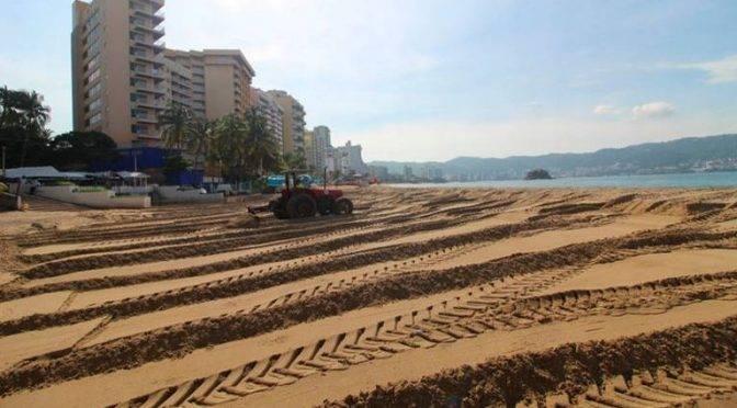 Guerrero: En Acapulco tapan con arena los desagües de aguas negras (El Sol de Salamanca)