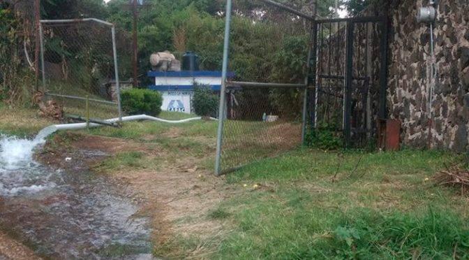 Morelos: Refuerzan cloración de agua en pozos y tomas de Cuernavaca (Diario de Morelos)