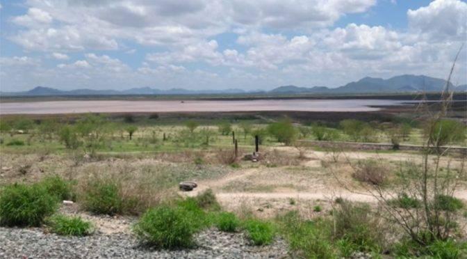 """Jalisco: """"Están desecando la presa El Órgano para urbanizar"""" (página 24)"""