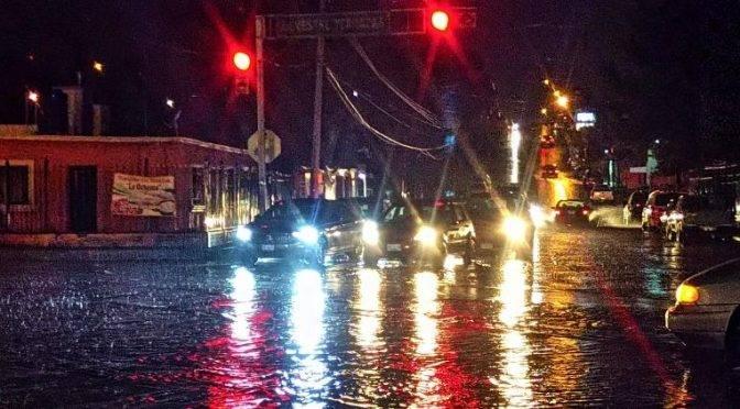 Chihuahua: Calles y casas inundadas tras lluvia en la ciudad (Tiempo)